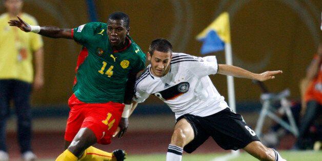 Patrick Ekeng (à gauche) et Mario Vrancic (à droite) en octobre