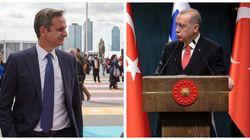 «Αναγνωριστική» συνάντηση Μητσοτάκη- Ερντογάν στη Νέα