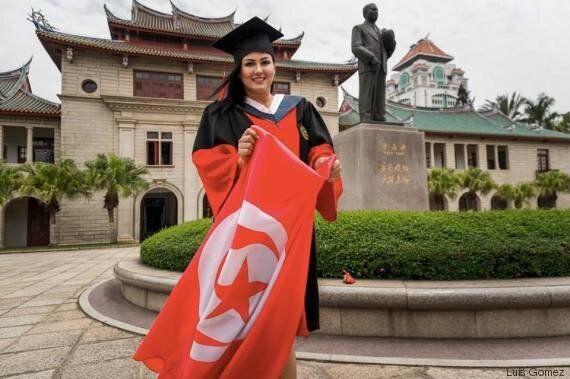 De la Tunisie à la Chine, le parcours plein d'espoir d'Ameni, première Tunisienne et plus jeune doctorante...