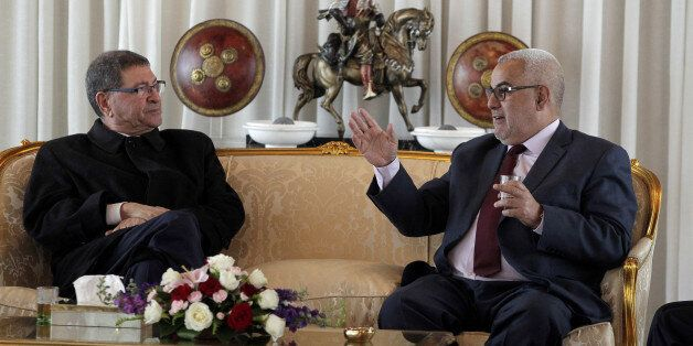 Habib Essid et Abdelilah Benkirane, mardi 10 mai 2016, à
