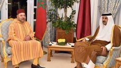 Arrivée du roi Mohammed VI au