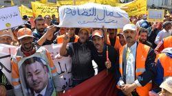 Les syndicats marocains manifestent pour défendre les droits des travailleurs