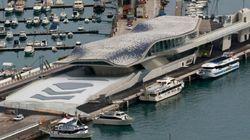 Italie: la gare maritime de Salerne conçue par Zaha Hadid ouverte au