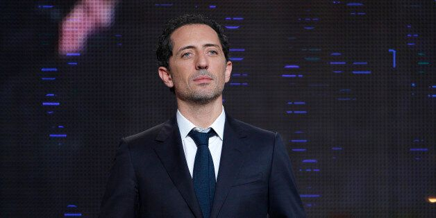 French actor Gad Elmaleh attends the 25th Telethon organised by the French Muscular Dystrophy Association...