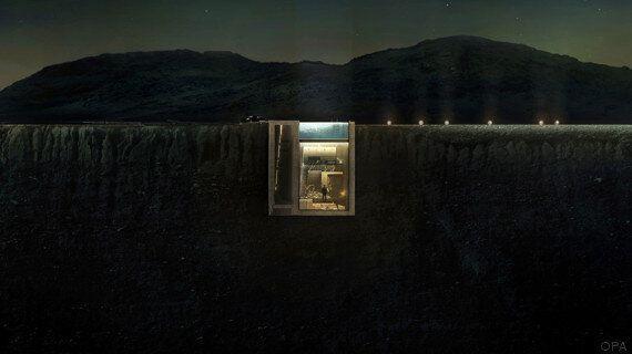 Cette maison incrustée à flanc de falaise va vraiment être construite