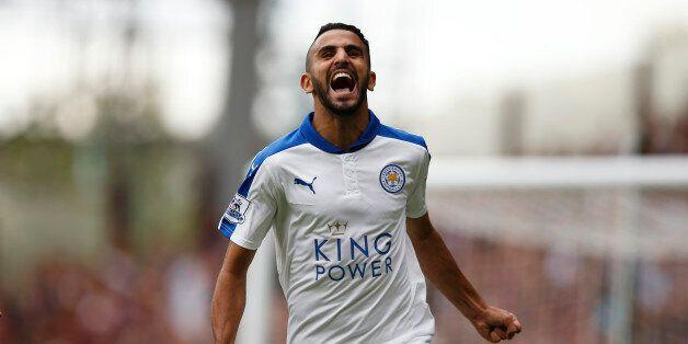Football - West Ham United v Leicester City - Barclays Premier League - Upton Park - 15/8/15Riyad Mahrez...
