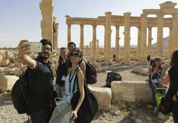 Damas célèbre la journée des Martyrs dans le théâtre antique de
