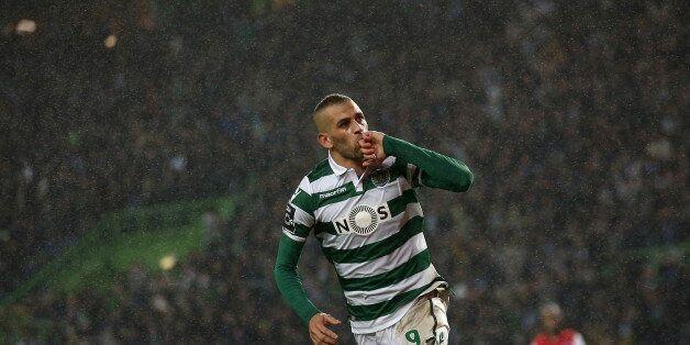 Football Soccer - Sporting v Braga - Portuguese Premier League - Alvalade, Lisbon, Portugal - 10/01/16...