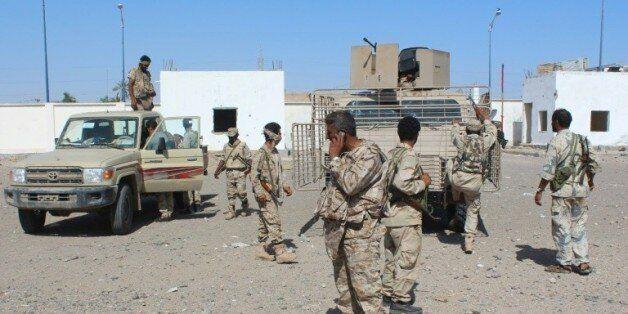 Les forces loyalistes à Lahj, dans le sud du Yémen, pendant une offensive visant à chasser les combattants...