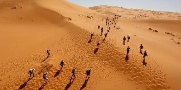 Top départ du Marathon des sables