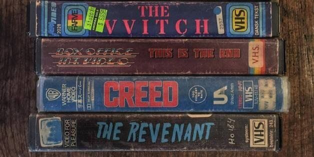 Les pochettes de films actuels en