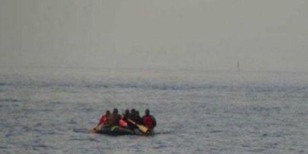 Sebta: Des recherches en cours pour retrouver une barque disparue avec à son bord onze migrants (image