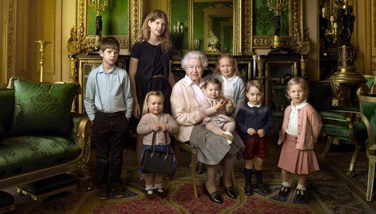 Quand la photographe Annie Leibovitz trouvait la reine