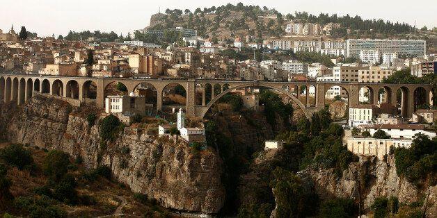 A bridge is seen in the eastern city of Constantine June 21, 2012. REUTERS/Zohra Bensemra (ALGERIA -...