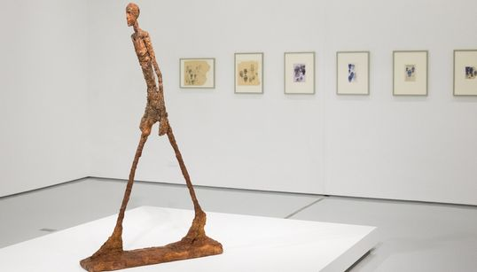 L'exposition Giacometti au MMVI comme si vous y
