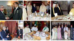 Les plus belles photos de réceptions officielles de Mohammed