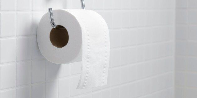 Toilet paper holder and