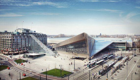 Un escalier titanesque va prendre place à Rotterdam