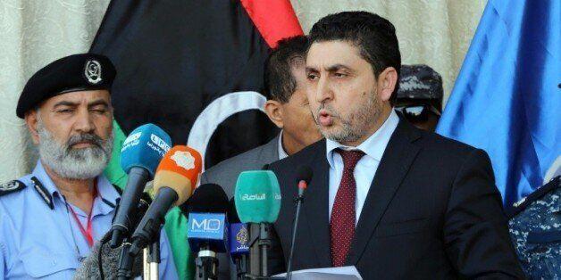 Le chef du gouvernement libyen non-reconnu basé à Tripoli, Khalifa Ghweil, le 8 juin 2015 à