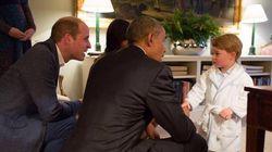 Le prince Georges vole la vedette... en