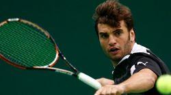 Le tennisman tunisien Malek Jaziri: