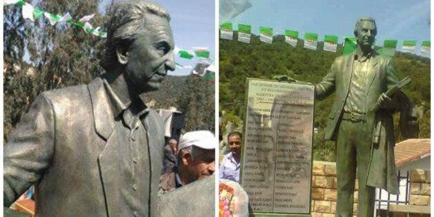 La statue de Hocine Ait Ahmed inaugurée à Ath Ouacif