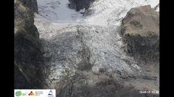 Questo video in timelapse mostra come il ghiacciaio del Monte Bianco si modifica e rischia di
