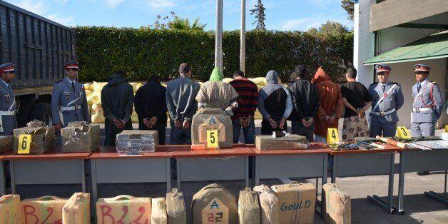 Neuf personnes ont été interpelées, et une somme d'un million de dirhams a été
