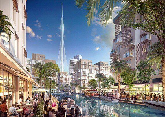 Du haut de cette tour, on aura une vue ahurissante sur Dubaï