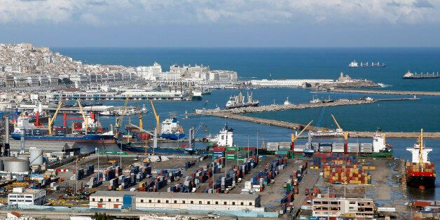 The port of Algiers is seen in Algiers, February 19, 2015. REUTERS/Amr Abdallah Dalsh (ALGERIA - Tags:...