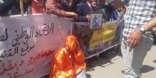 Une manifestation de solidarité