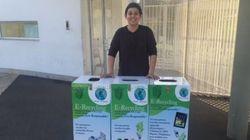 A 15 ans, ce lycéen marocain lance un système de collecte des déchets