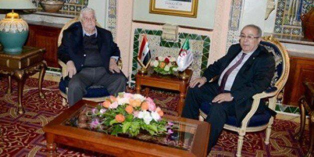 Lamamra s'entretient avec son homologue syrien Walid