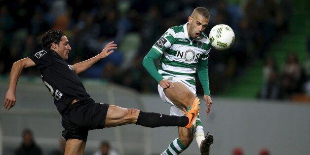 Football Soccer - Sporting v Academica - Portuguese Premier League - Alvalade, Lisbon, Portugal - 30/01/16...