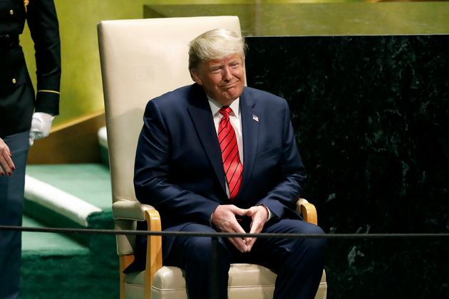 El presidente de EEUU, Donald Trump, en la