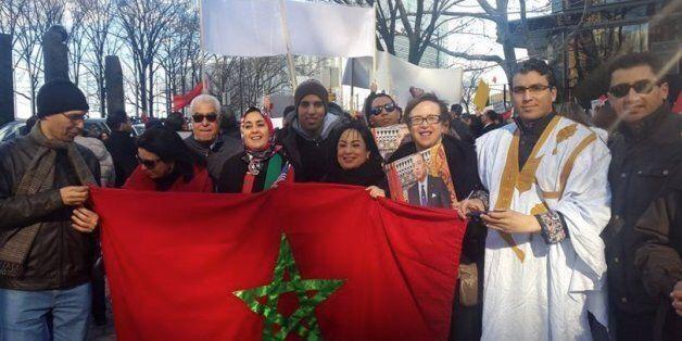 Les Marocains de New York manifestent contre les propos de Ban
