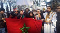 Des Marocains manifestent à New York contre les propos de Ban