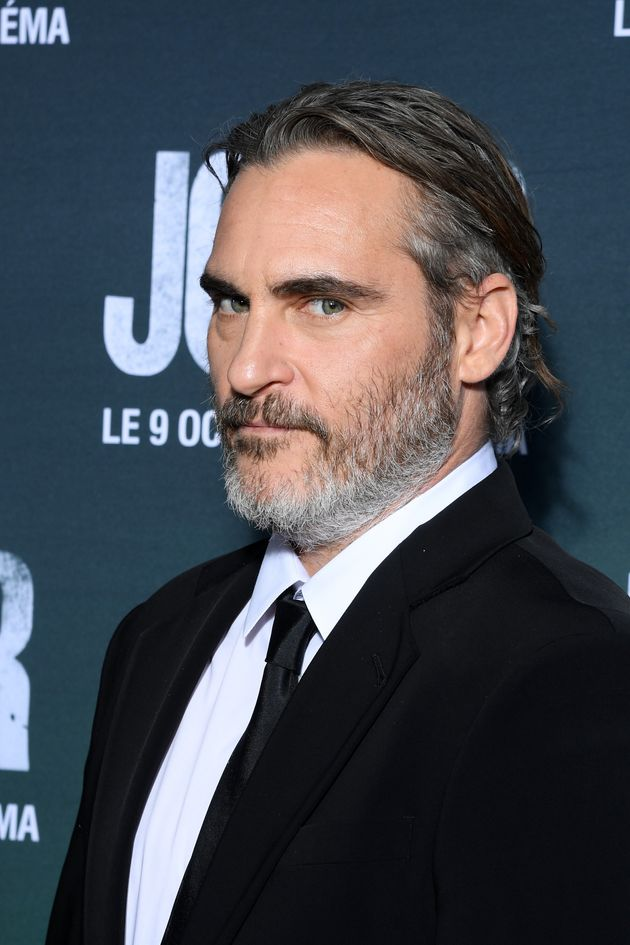 Joaquin at the film's French