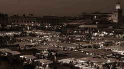 A Marrakech, une heure d'obscurité pour la