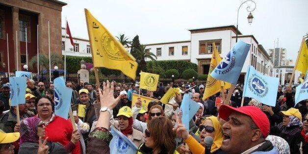 Des syndicats marocains protestent contre la réforme du système de
