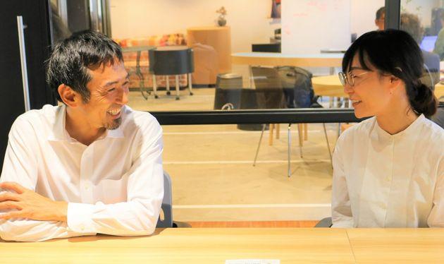 インタビューにはマザーハウスの山口絵理子さんも参加した