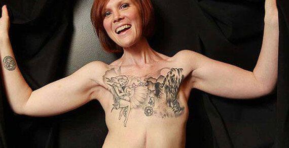 PHOTOS. Quand le tatouage sert d'arme contre la