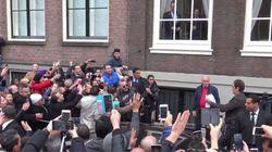 Bain de foule pour le roi Mohammed VI à Amsterdam