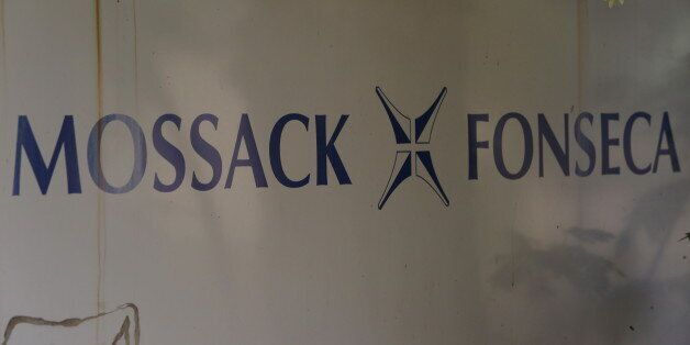 A Mossack Fonseca law firm logo is pictured in Panama City April 3, 2016. REUTERS/Carlos