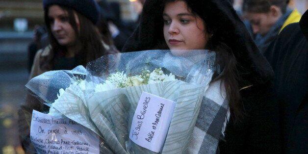 Un rassemblement en hommage aux victimes des attentats de Bruxelles à Londres, le 24