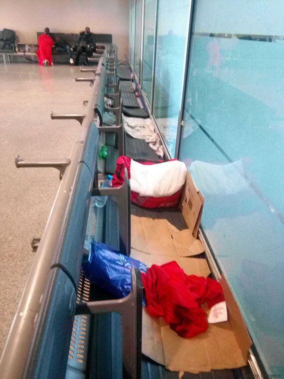 Une journée avec les étrangers en rétention à l'aéroport de Casablanca