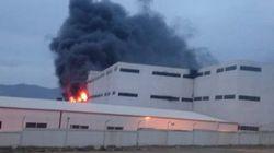 Une unité de production de N'Gaous ravagée par un incendie (PHOTOS,