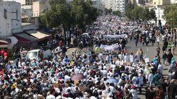 Des milliers d'enseignants stagiaires manifestent à Casablanca