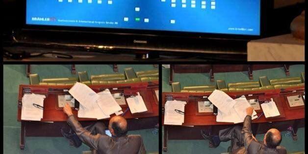 A l'image Noomene El Euch à l'Assemblée des Représentants du