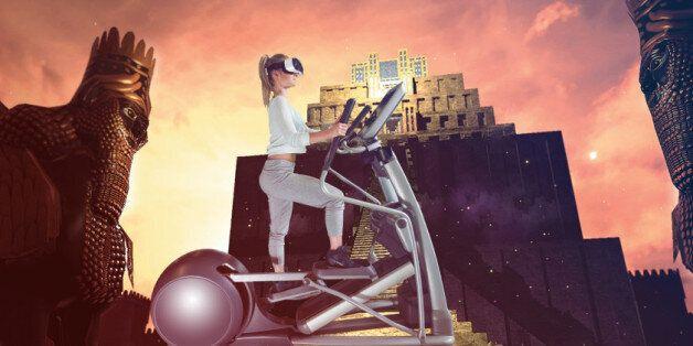 Holodia, la startup qui veut transformer les salles de sport en véritable excursion